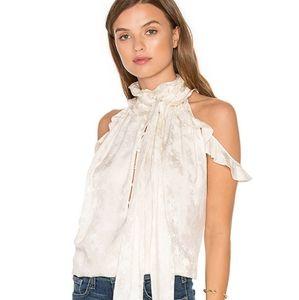 Rachel zoe off shoulder blouse